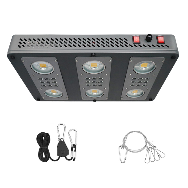 GLIC650 - 650W 650W Full Spectrum COB LED Grow Light image 1